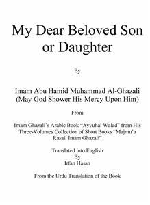 My Dear Beloved Son or Daughter